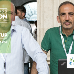 MArco Ciarletti e Cosmo Pepe presentano le innovative soluzioni di water management intelligente tramite il sistema Smart Irrigation